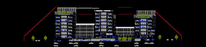 COUPE LONGITUDINALE B-B 1-500 - A3